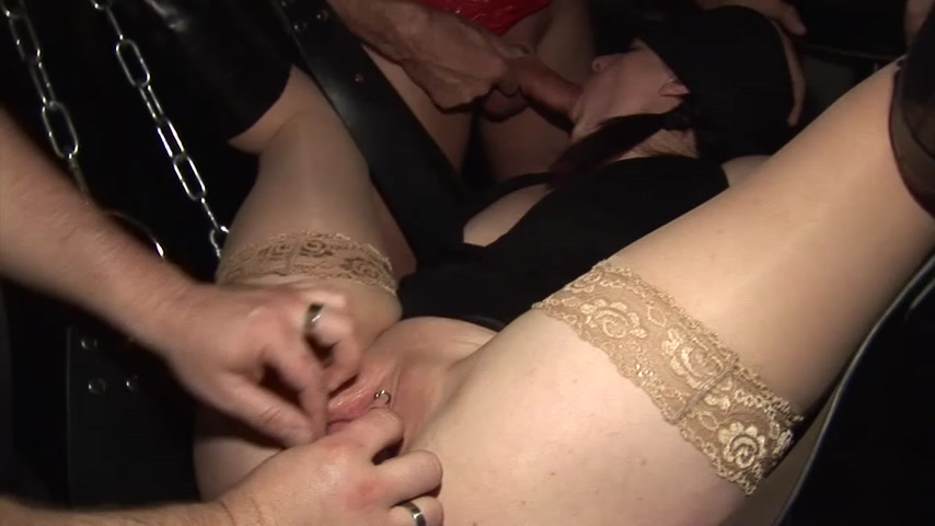 GANG BANG im Swingerclub