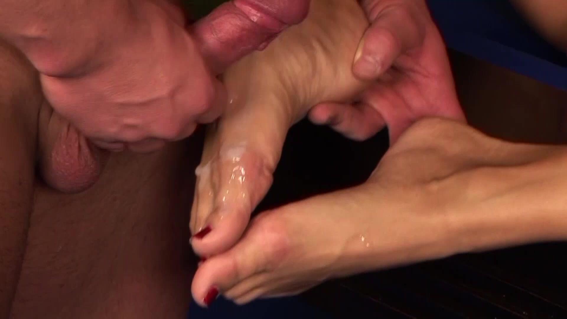 Dirty Footjob 3