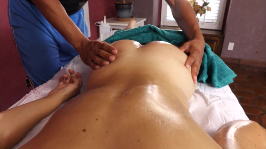 Interracial MILF Massage